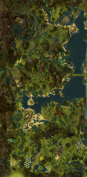 map of Caledon Forest