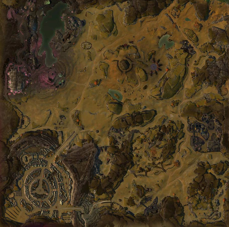 map of Fields of Ruin