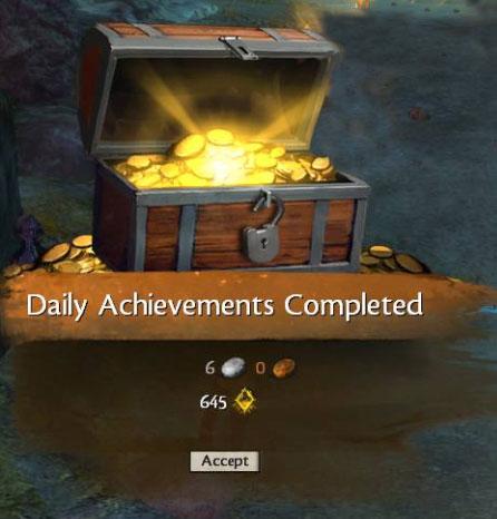 daily achievements