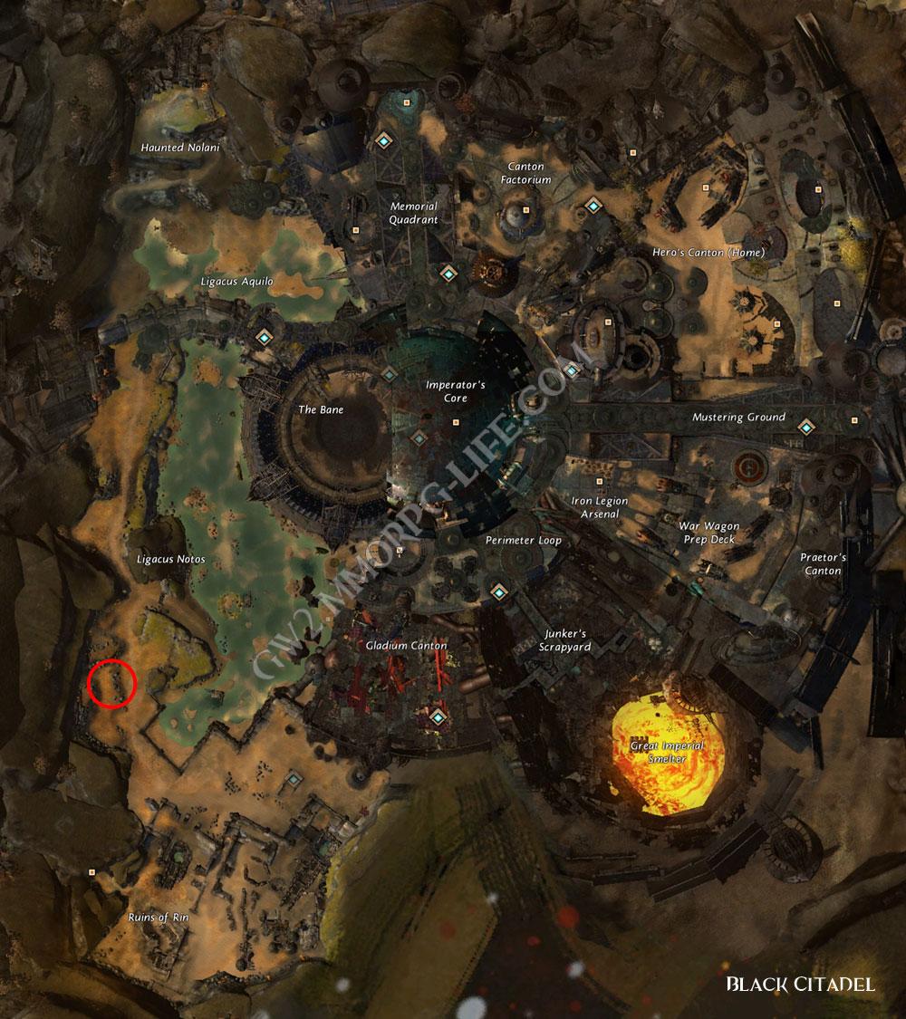 juvenile_Whiptail_Devourer-_location_Black_Citadel_map