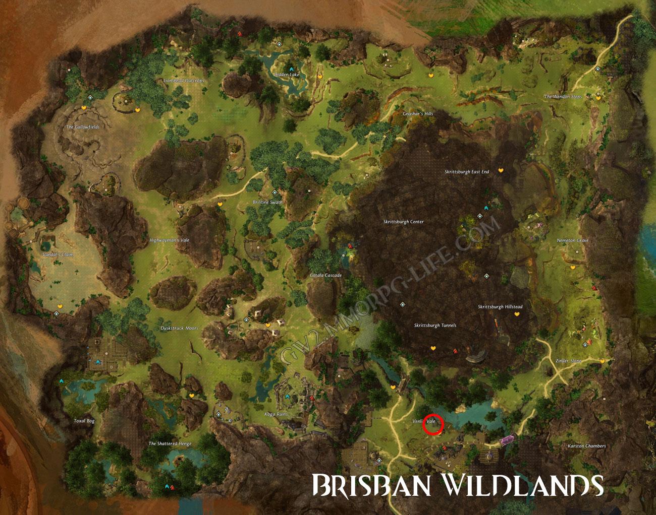 juvenile_flamingo_Brisban_Wildlands_gw2_map_location