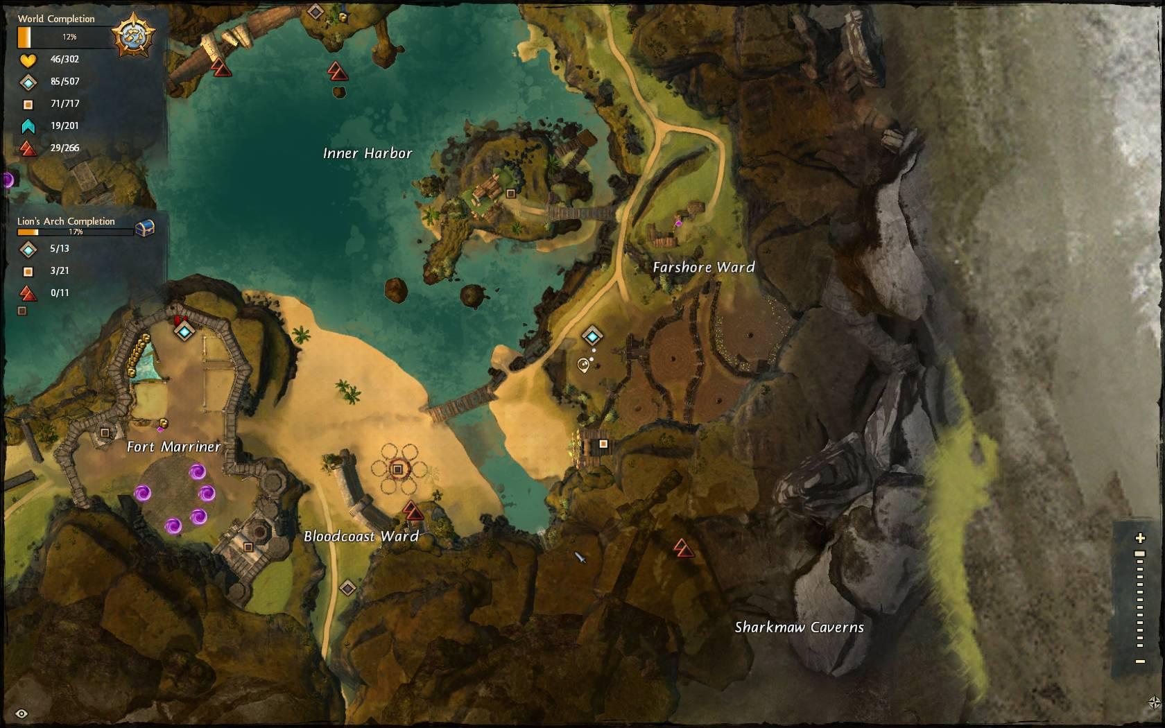 weyandts revenge beginning map