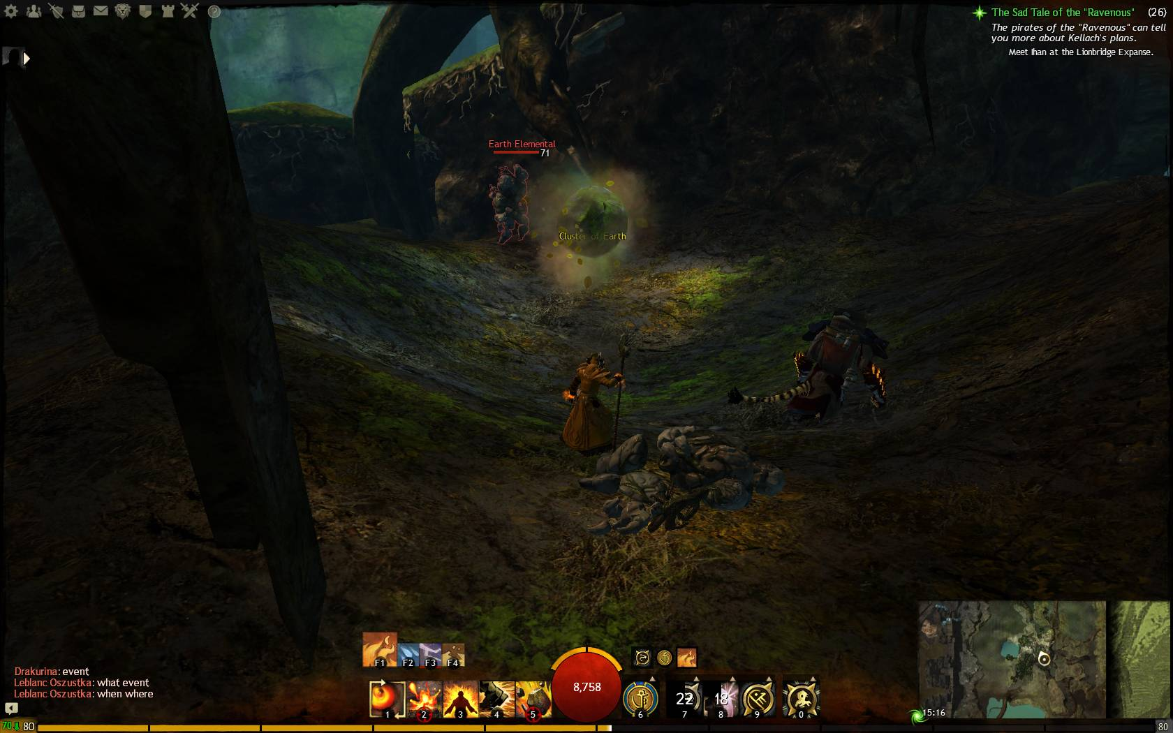 Cantle Of Earth 1 Guild Wars 2 Life