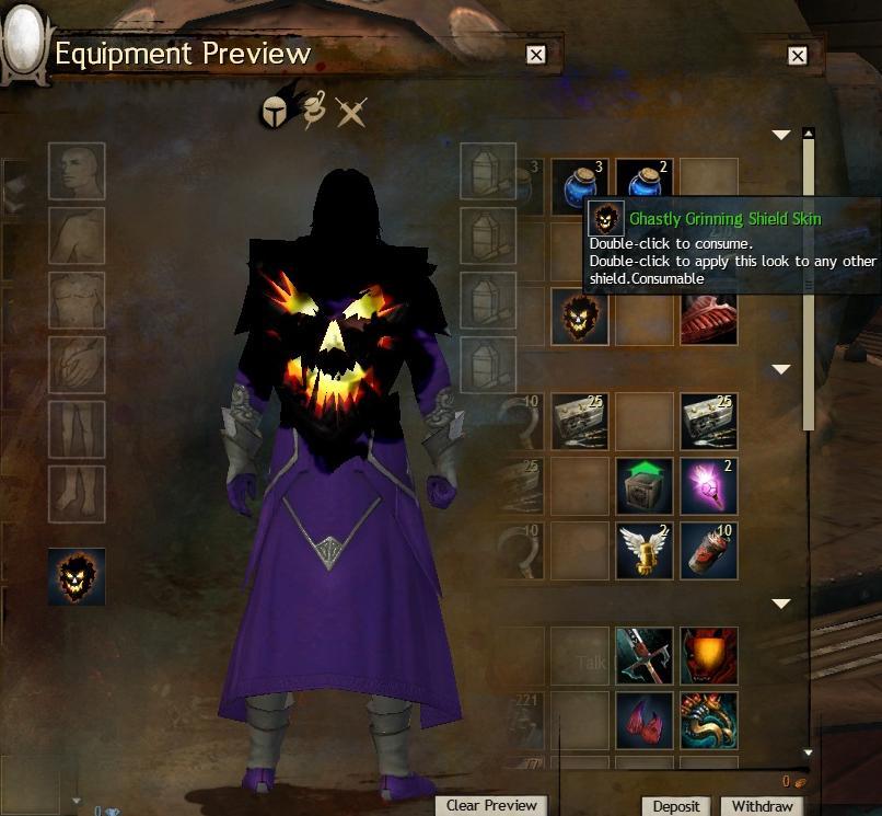 Ghastly Grinning Shield_2 - Guild Wars 2 Life