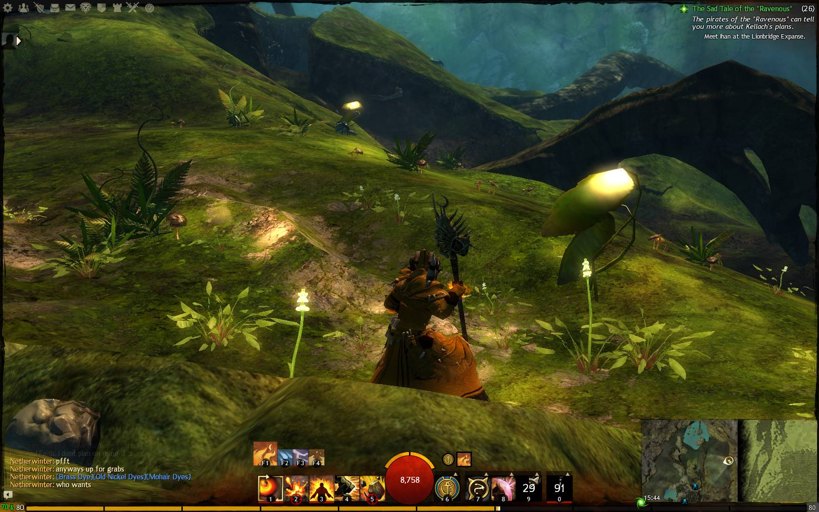 Hidden Garden Jumping Puzzle Keeper Of Earth 8 Guild Wars 2 Life