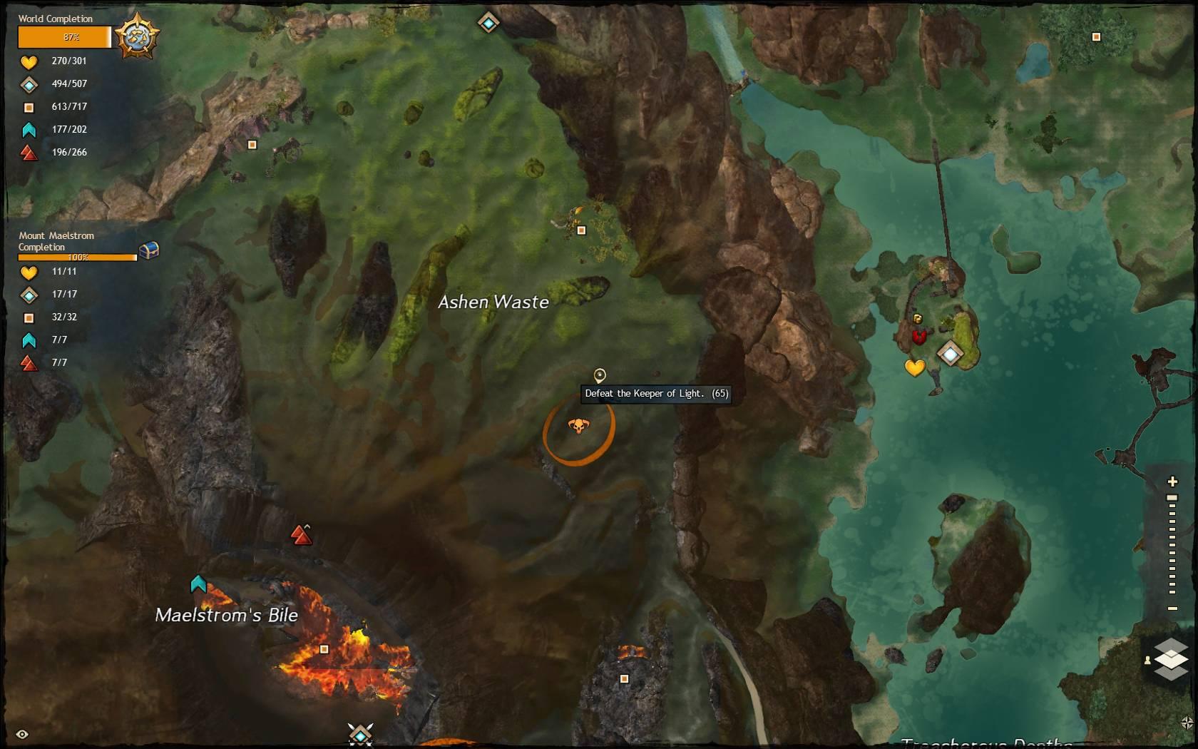 Hidden Garden Jumping Puzzle Keeper Of Light 1 Guild Wars 2 Life
