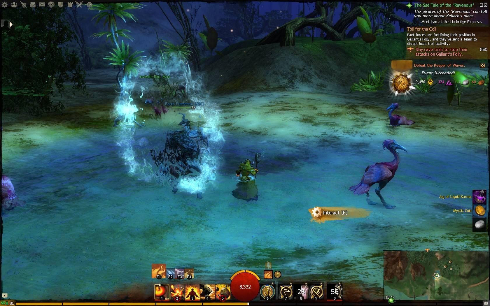 Hidden Garden Jumping Puzzle Keeper Of Waves 4 Guild Wars 2 Life