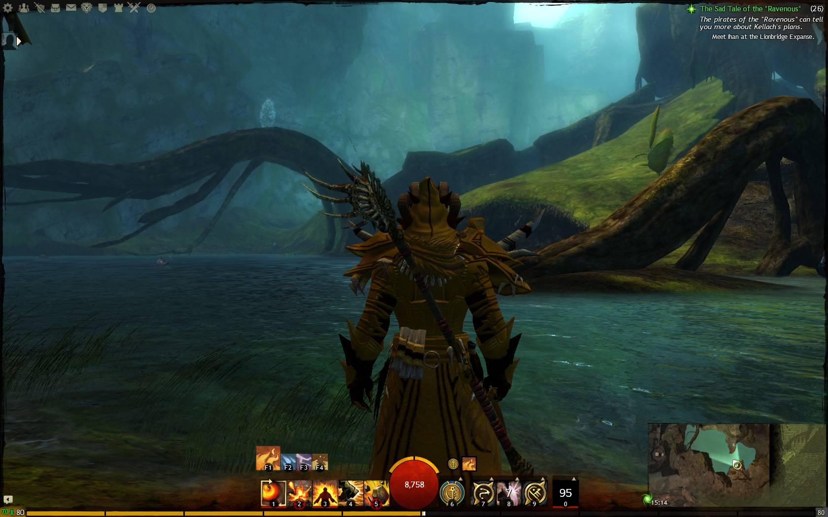 Hidden Garden Jumping Puzzle Keeper Of Waves 7 Guild Wars 2 Life