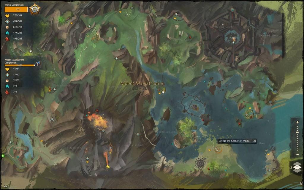 Hidden Garden Jumping Puzzle Keeper Of Wind 3 Guild Wars 2 Life