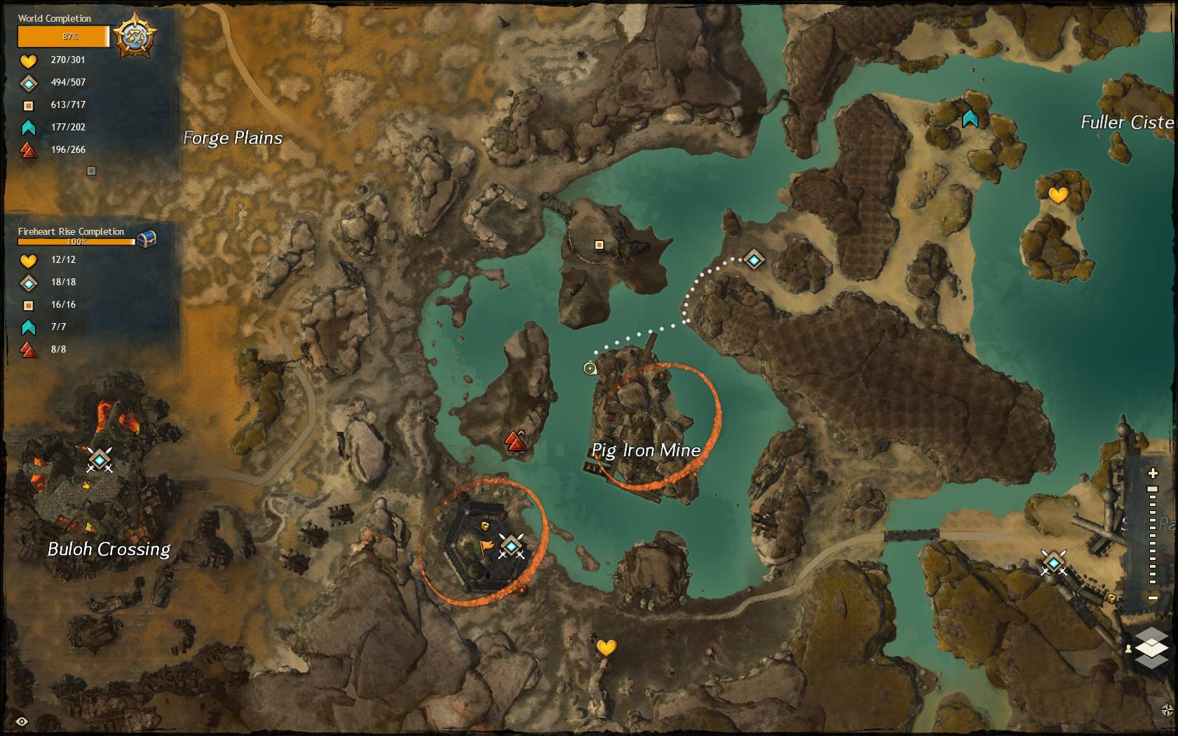 Pig Iron Quarry Jumping Puzzle