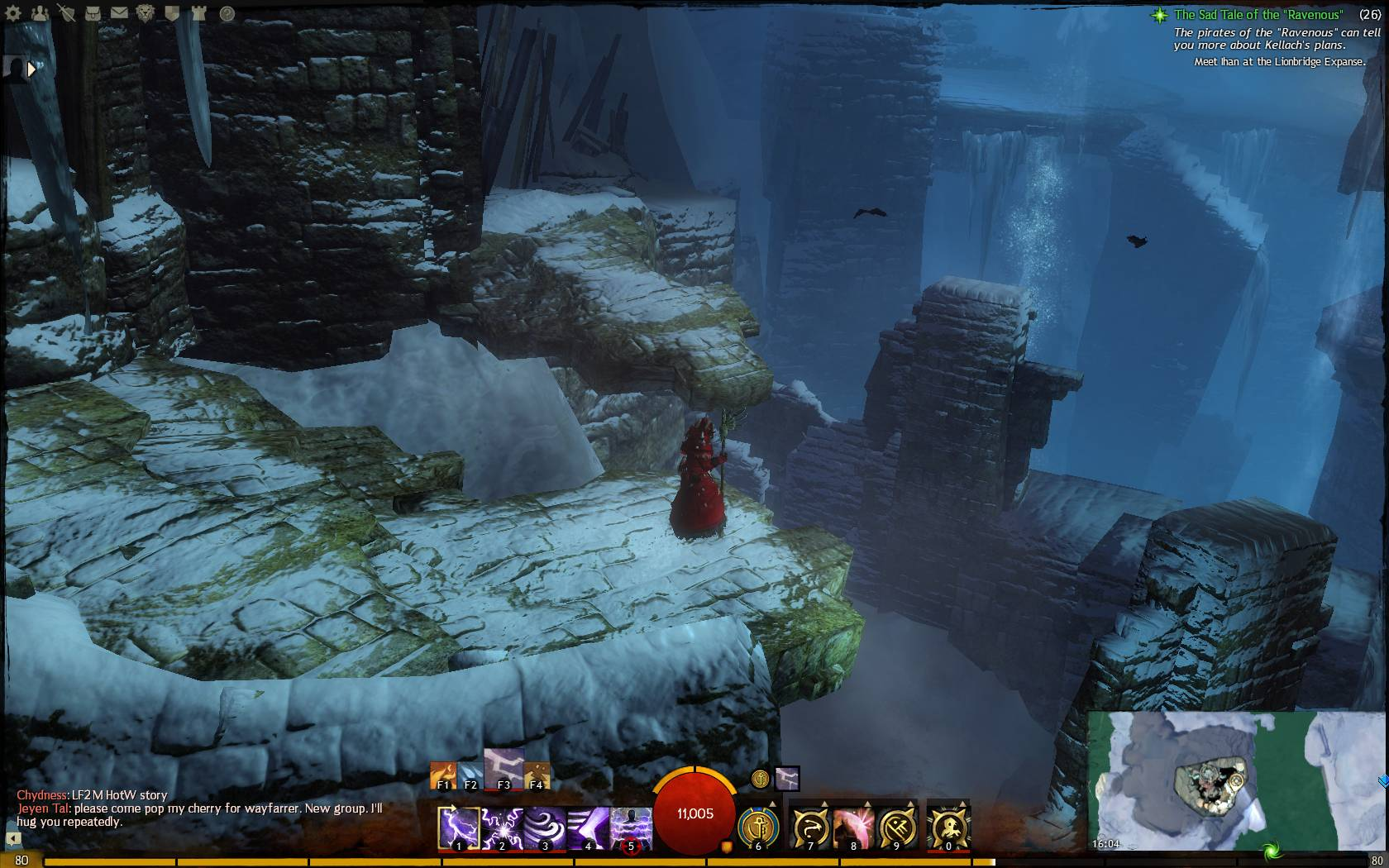Shattered Ice Ruins Jumping Puzzle Guild Wars 2 Life