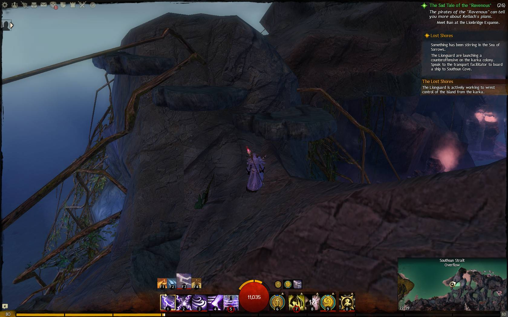 Skipping Stones jumping puzzle