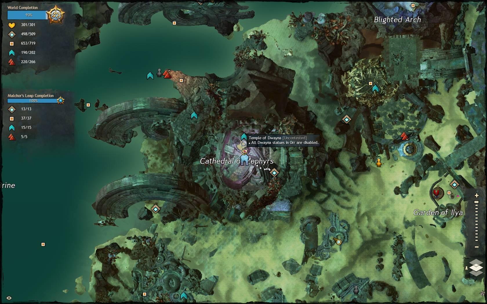 GW2 New Temple Exotics - Guild Wars 2 Life
