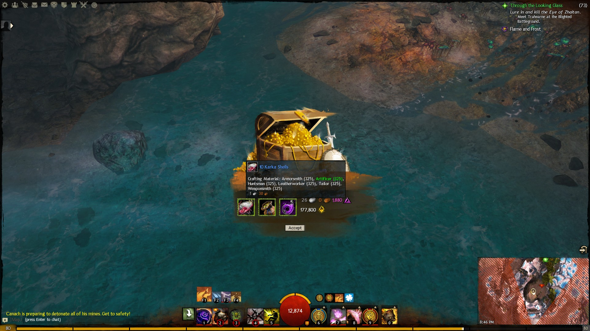 how to get to crystal desert gw2 path of fire
