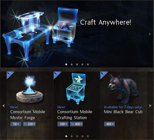gw2 mobile crafting station