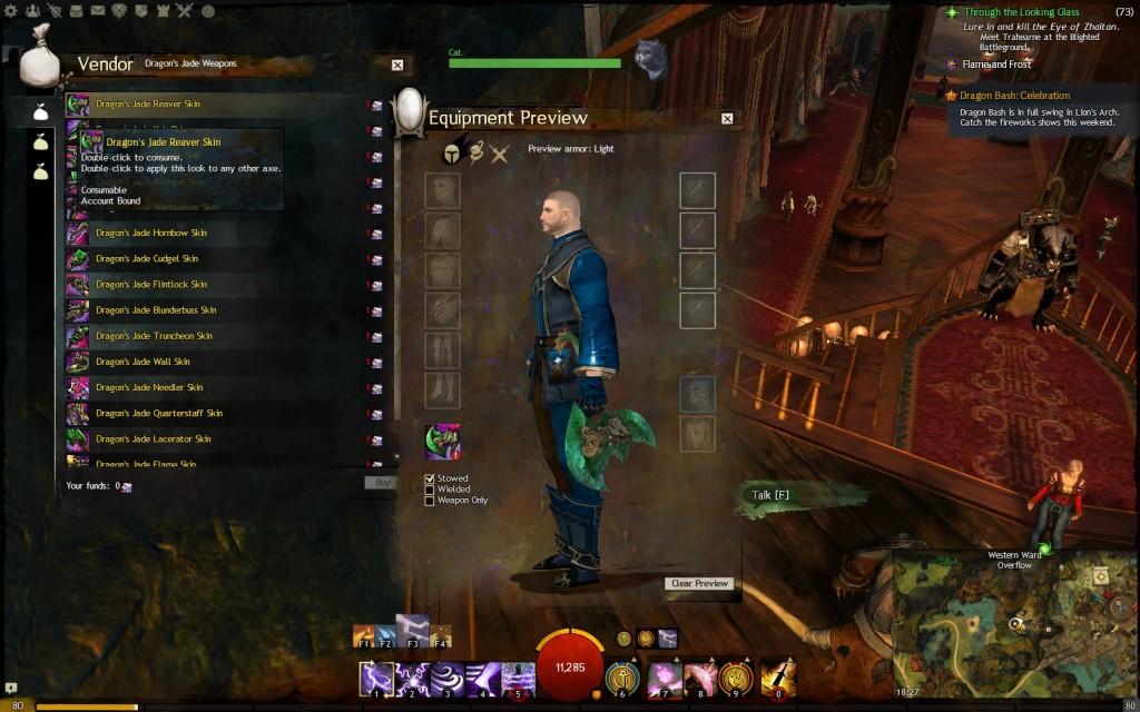 Gw2 dragon jade weapon skins 3 guild wars 2 life