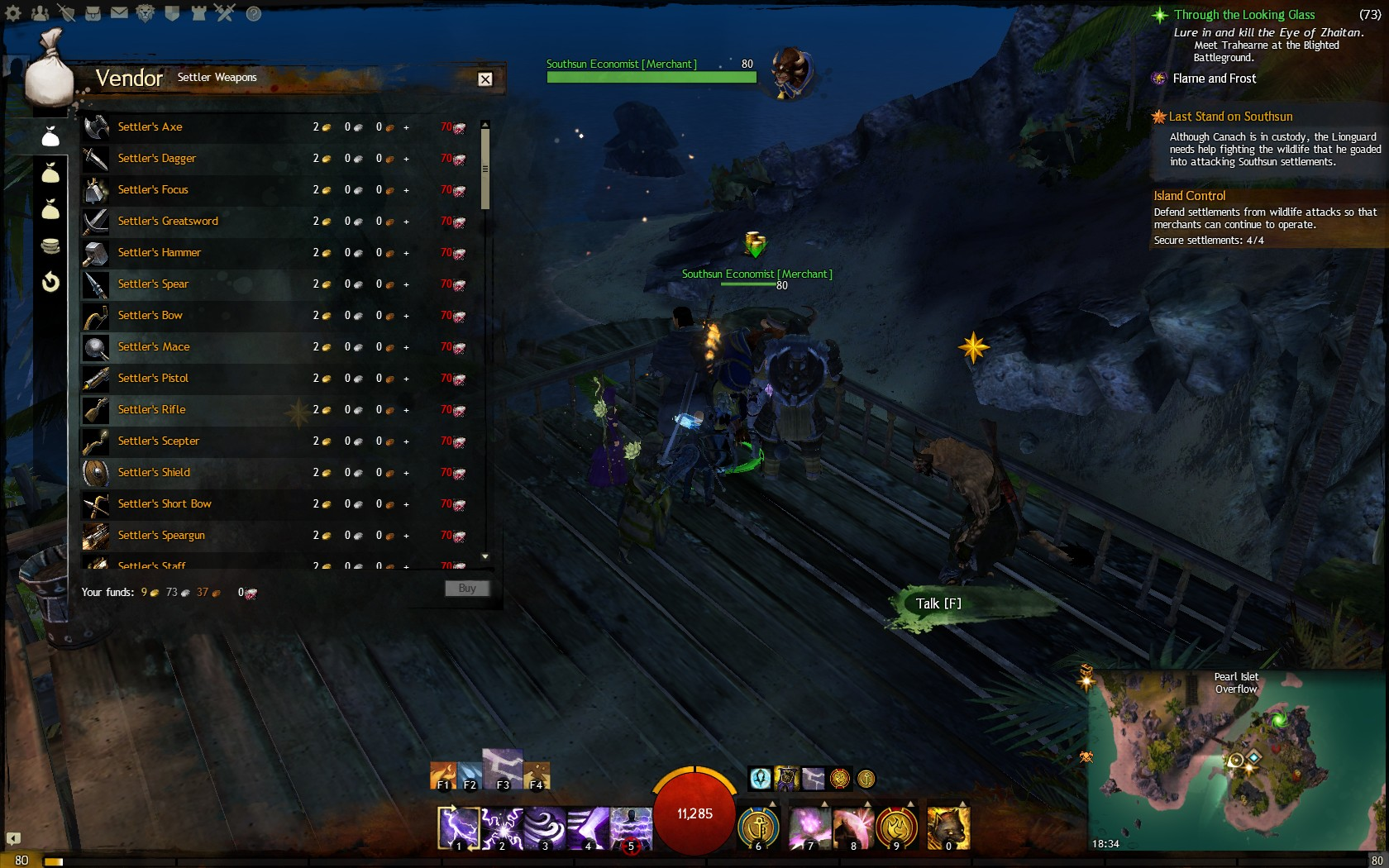 how to get to southsun cove gw2