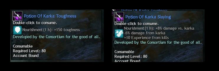 Karka Potions