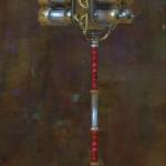 GW2 Aetherized Hammer Skin