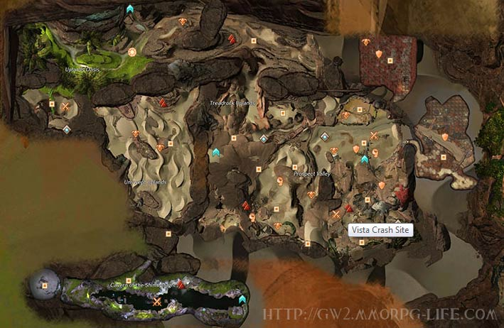 gw2 dry top map added