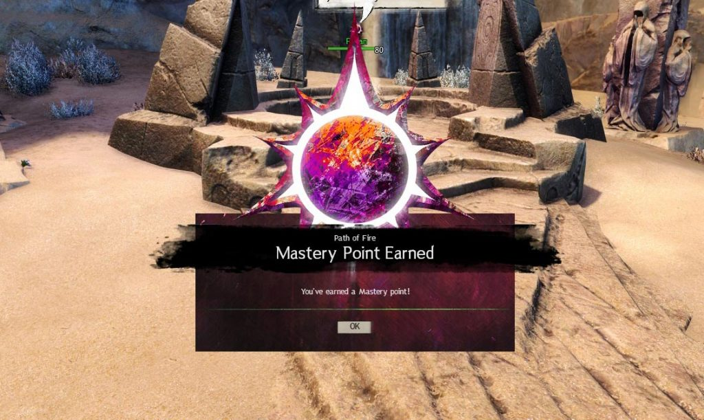 Path of Fire Crystal Oasis Mastery Point Locations