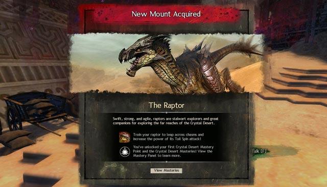 Path of Fire Mounts - Springer, Raptor, Skimmer, Jackal