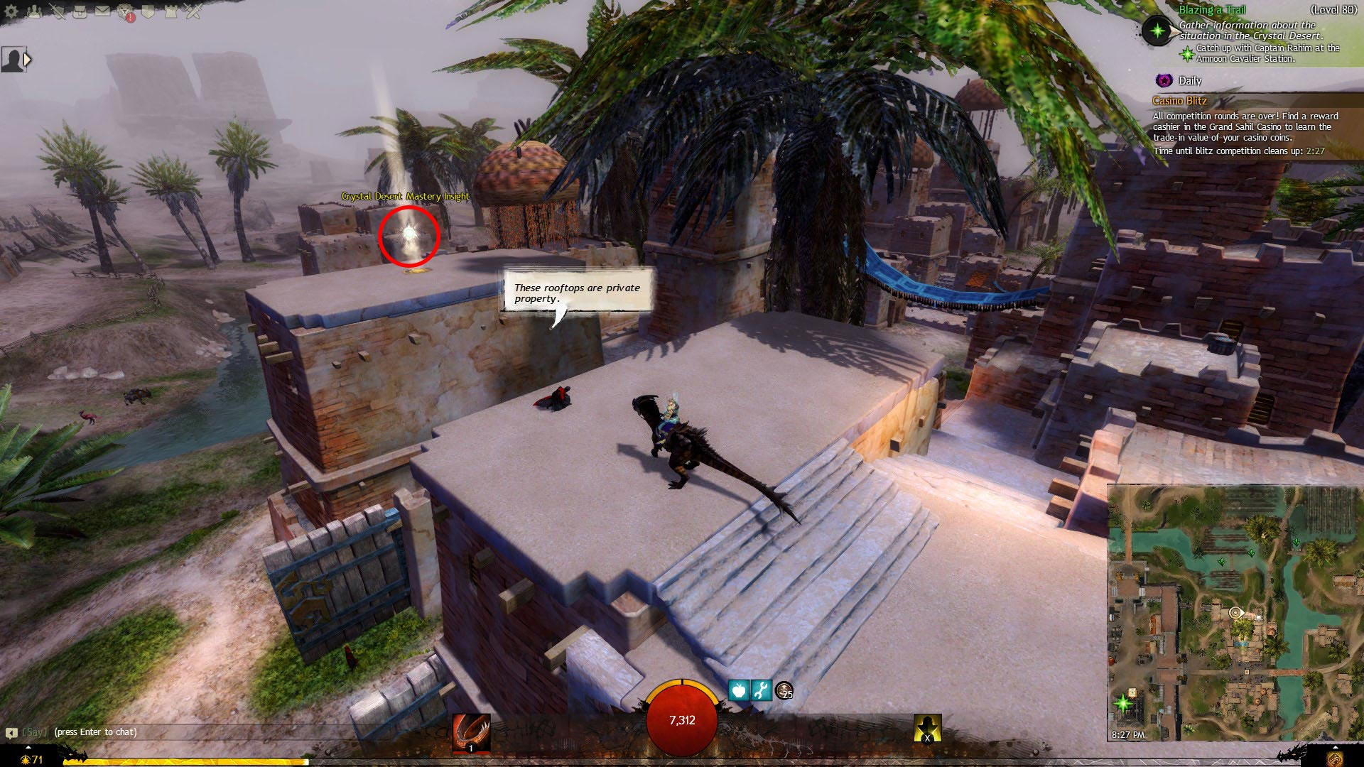 GW 2 Crystal Desert Mastery Insight Path of Fire Achievement